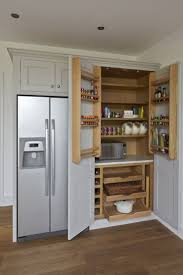 286 best kitchens images on pinterest kitchen kitchen pantries traditional painted kitchen in hinchley wood surrey featuring a larder teltos carrara worktop rangemaster cooker and canopy