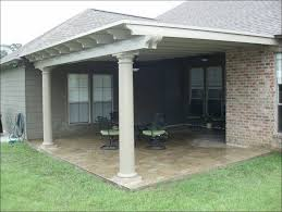 outdoor awesome wooden patio roof metal patio covers cost patio