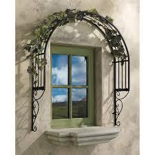 you ll the thornbury ornamental garden window trellis wall