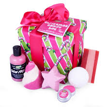pre wrapped gift boxes christmas lush gift guide polished