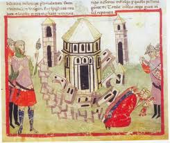 historical fiction research what building most defines medieval