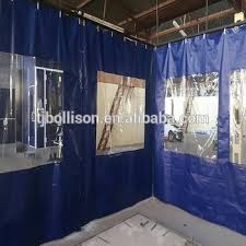 pvc vinyl industrial side curtains for warehouse workshop room