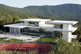 large white nuance modern austrian houses plans that has white