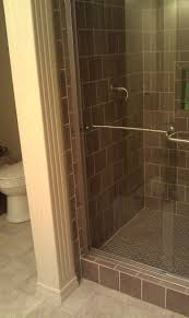 Walk In Bathroom Shower Ideas by 30 Best Shower Images On Pinterest Bathroom Ideas Subway Tile