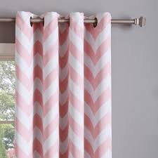 Pink Chevron Curtains Stylish Grommet Chevron Curtains Inspiration With Vcny Athens