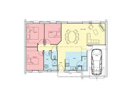 plan maison simple 3 chambres plan de maison 100m2 plan de maison a etage 100m2 plan de maison