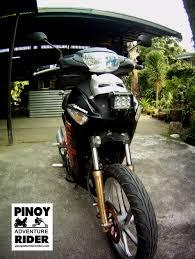 custom honda custom honda wave 125 by pinoy adventure rider pinoy adventure rider