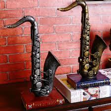 2017 sax musical instrument retro cafe bar decoration vintage home