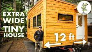 Tiny House by Special 12 Ft Wide Tiny House Feels Like A Real Home Full Tour