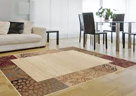 Brown Shag Area Rug by Living Room Handmade Gray With Blue Dimensional Shag Area Rug