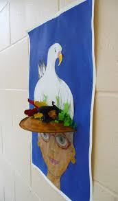 spring painting ideas that artist woman spring projects
