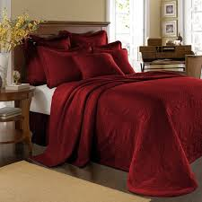 Red Bedding 20 Red Bedroom Ideas That Look Pretty Classy