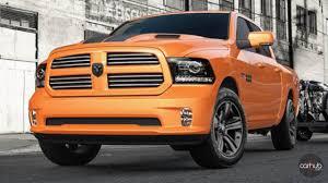 Dodge Ram Yellow - dodge ram ignition orange at 2016 la auto show carhub