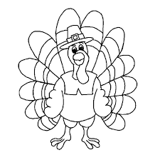 printable turkey coloring pages happy thanksgiving