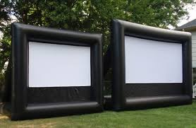 new jersey outdoor movies inflatable movie screen rentals