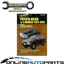 toyota hilux 4x4 2 8l 3l ln106 ln107 ln111 ln130 workshop repair
