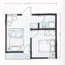 layout ruangan rumah minimalis contoh rumah mungil type 22 lengkap dengan layout tak depan