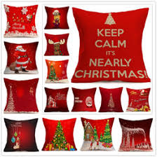 Factory Direct Home Decor Cheap Pillow Cushion Cover Buy by Discount Vintage Christmas Pillow Covers 2018 Vintage Christmas