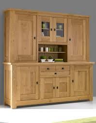 buffet vaisselier cuisine meuble cuisine chene massif 9 avec decoration buffet vaisselier et