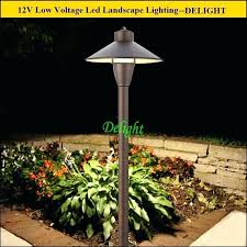 Low Voltage Led Landscape Lighting Low Voltage Landscape Led Lights Add To The Security And Of