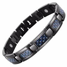 energy bracelet magnetic images Stylish bio energy magnetic therapy bracelet for men sbrm095cf jpg