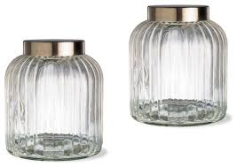 kitchen canisters and jars tag vintage canister set of 2 medium traditional kitchen