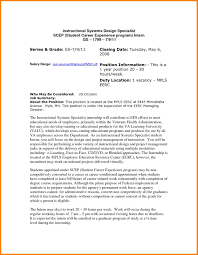 Federal Resume Examples by Sample Resume For Usajobs Resume For Your Job Application
