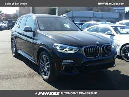 2018 new bmw x3 m40i sports activity vehicle at bmw of san diego