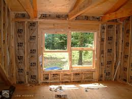 window framing the stafford home custom timber log homes