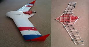 3d paper model airplanes print outs openrc swift the amazing 3d printed radio controlled flying wing