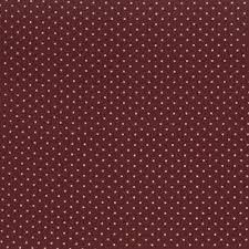 burgundy dotted flannel cotton quilt fabric by the yard keepsake