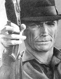 clint eastwood black pencil drawings u0026 sketches pinterest