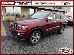 maroon jeep 2017 hondru chrysler dodge jeep ram of e town vehicles for sale in