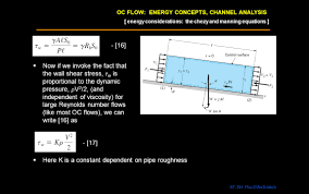 oc flow energy concepts channel analysis ppt video online download