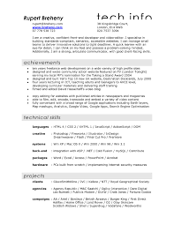 Best Google Resume Templates by Sample Of Video Resume Script Resume For Your Job Application