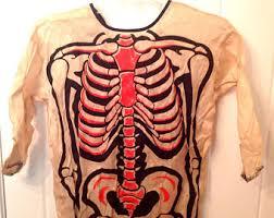 Anatomy Halloween Costumes Vintage Halloween Costume Etsy