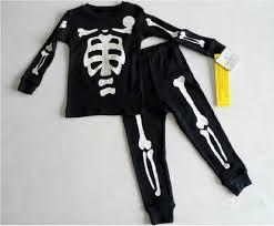 Halloween Cat Skeleton Nwt Girls Boys Carter U0027s Halloween Pajamas Size 18 24 Mo 2t Pjs