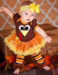 baby thanksgiving turkey number 1 bling turkey gobble brown