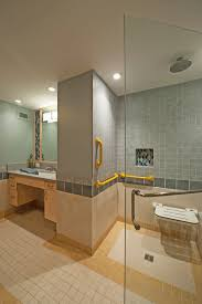 universal design bathrooms design light filled and doesn t come across as a purely