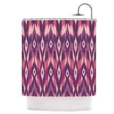 Purple Ikat Curtains Ikat Shower Curtains You U0027ll Love Wayfair