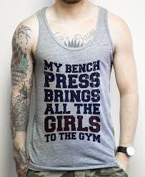 Top Bench Press My Bench Press Brings All The Girls To The Gym On An Athletic Grey