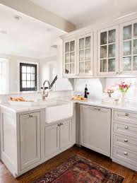 peninsula kitchen cabinets kitchen white farmhouse kitchen with peninsula kitchen decor in