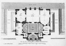 chateau floor plans château de louveciennes