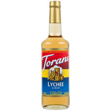 lychee martini bottle torani 750 ml lychee flavoring syrup
