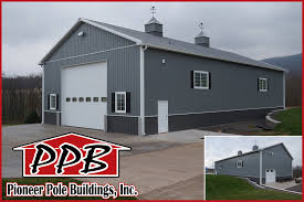 42 u0027 w x 80 u0027 l x 18 u0027 h garage by pioneer pole buildings inc