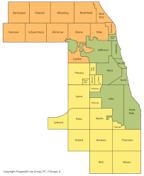 Counties In Illinois Map by Cook County Assessor Map My Blog
