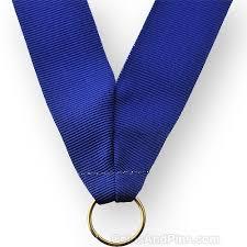 royal blue ribbon neck ribbon royal blue