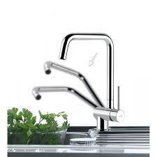 mitigeur cuisine rabattable mitigeur rabattable logik franke pour votre cuisine moderne sur mesure