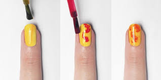 lava nail art tutorial by wah nails u0027 sharmadean reid for