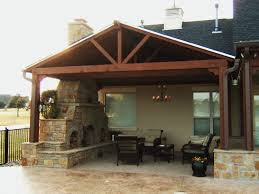 Building A Hip Roof Patio Cover by Covered Back Porch Build Off Detached Garage Perhaps Home Is